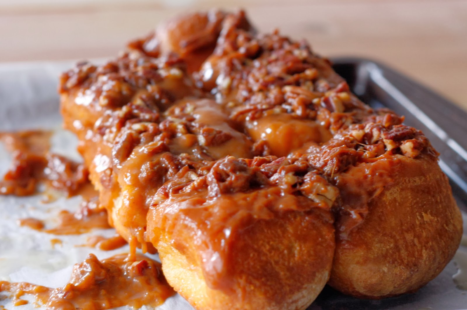 Boston Girl Bakes: Easy Overnight Caramel Pecan Rolls