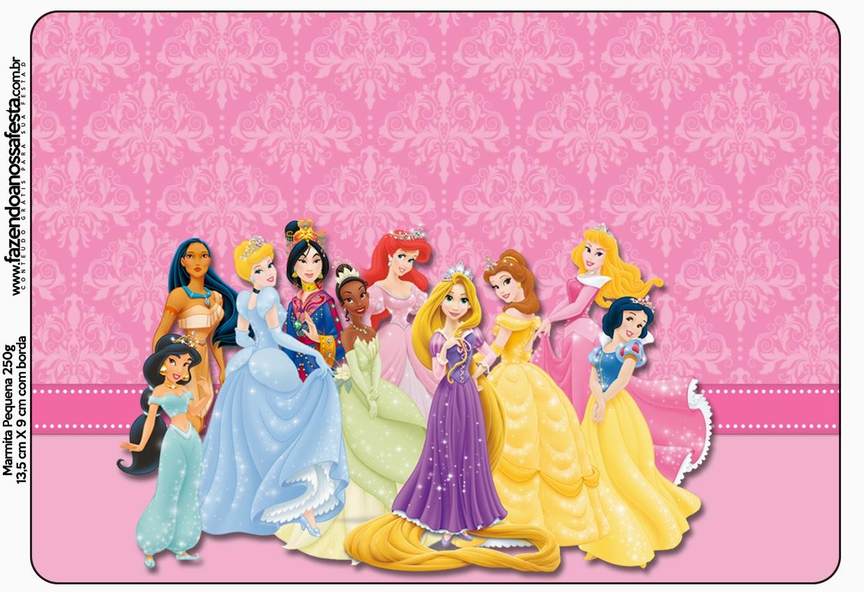Disney Princess Free Printable