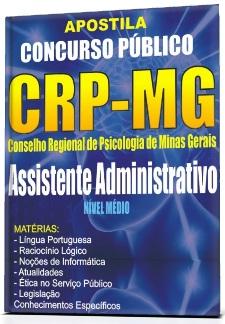 Apostila Concurso CRP-MG Assistente Administrativo 2015