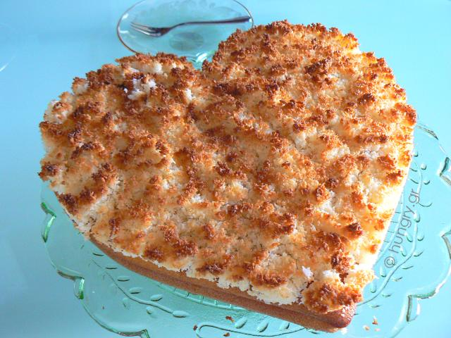 Κέικ με Επικάλυψη Καρύδας