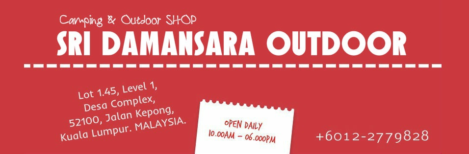 SRI DAMANSARA OUTDOOR - OUTDOOR SHOP | CAMPING TENT | LIFE JACKET | TRAMPOLINE  | CAMPING EQUIPMENT