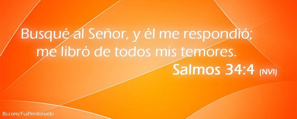 Salmos 34:4