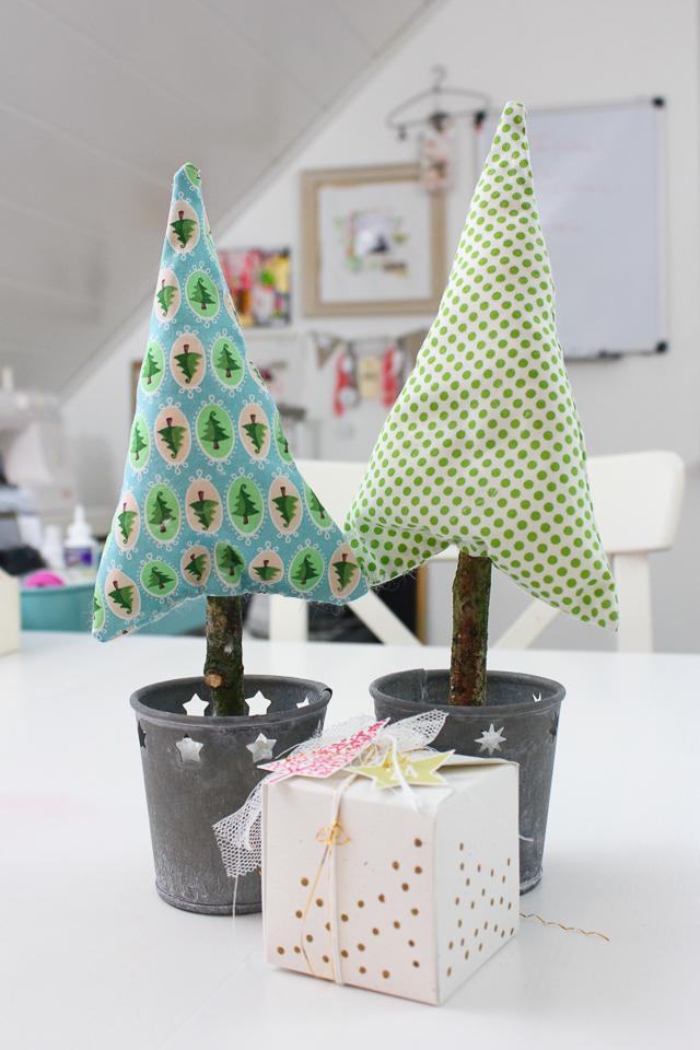DIY Tannenbaum nähen | Weihnachtsdekoration | Janna Werner