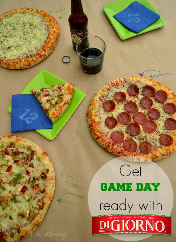 Make Game Day #BetterWithDigiorno table
