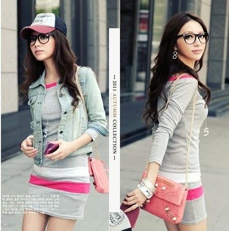 trend baju 2014 20 Trend Baju Korea 2014 untuk Wanita
