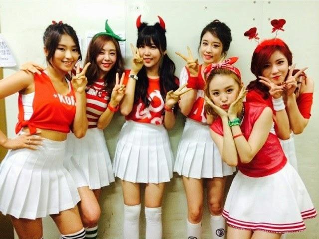 Jiyeon Bora G.Na Raina NC.A Hyosung