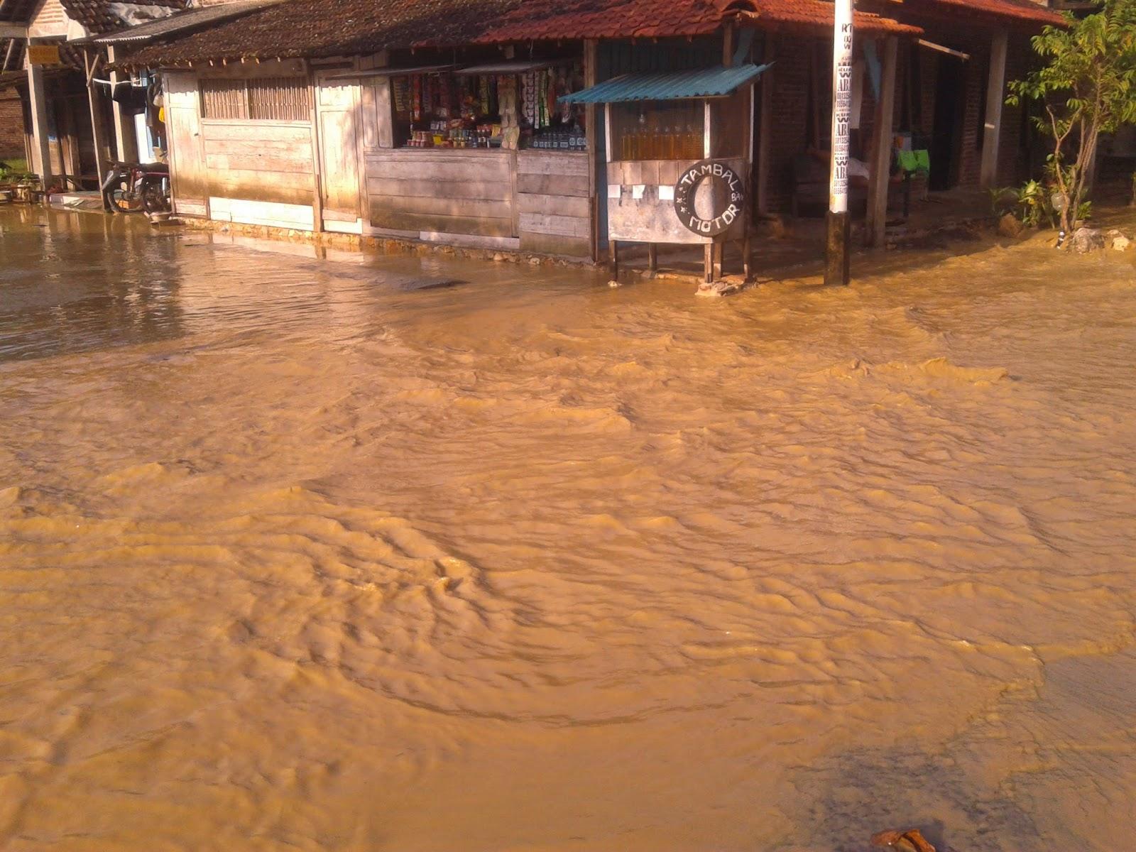 Kayen Selatan di Kepung Banjir