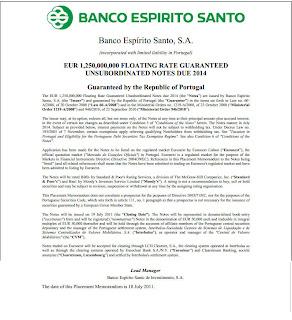 Modelo de Garantia Bancária dada pelo Estado aos Bancos; Modelo de Garantia Bancária; Estado; Bancos; BES; Povo; Portugal; Português