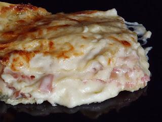 lasagne cotto e scamorza affumicata