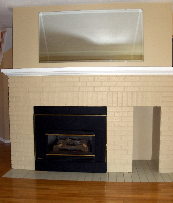 360renos Paint A Brick Fireplace