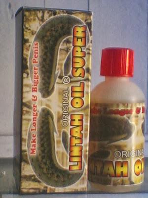 lintah oil super original pembesar penis cosmetik selebritis