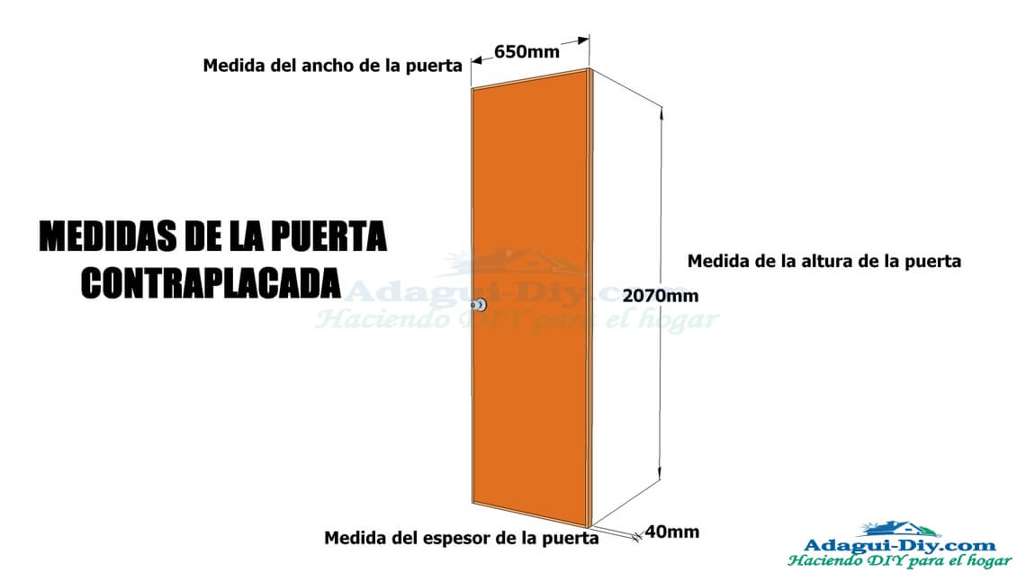 Como hacer una puerta de ba o u habitaci n contraplacada for Medidas estandar de ventanas argentina