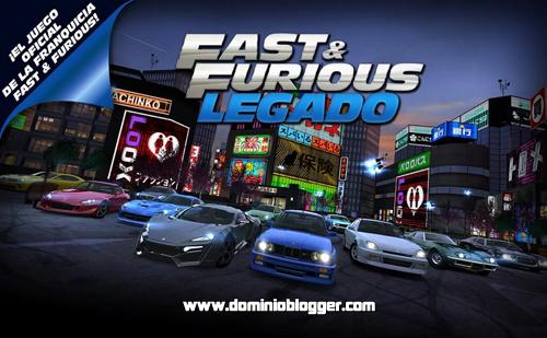 Corre a maxima velocidad en el juego oficial de Fast and Furious Legado