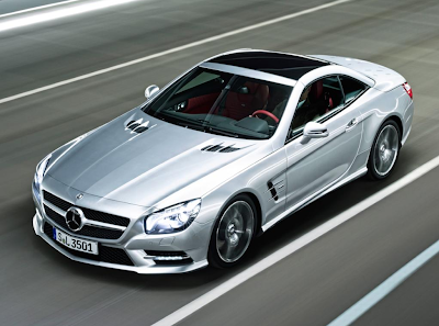 New Mercedes SL (R231)