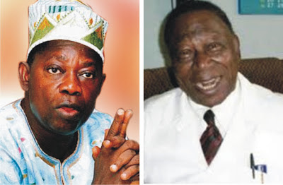 MKO Abiola and His Doctor Ore Falomo