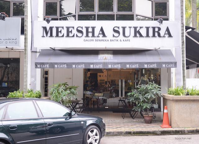 M Cafe By Meesha Sukira @ Bukit Damansara, Kuala Lumpur