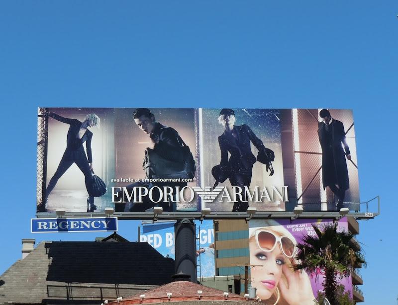 Emporio Armani FW11 billboard