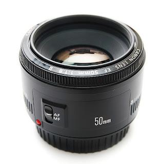 Obiettivo Canon 50mm f1.8