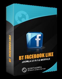 download facebook like box for joomla