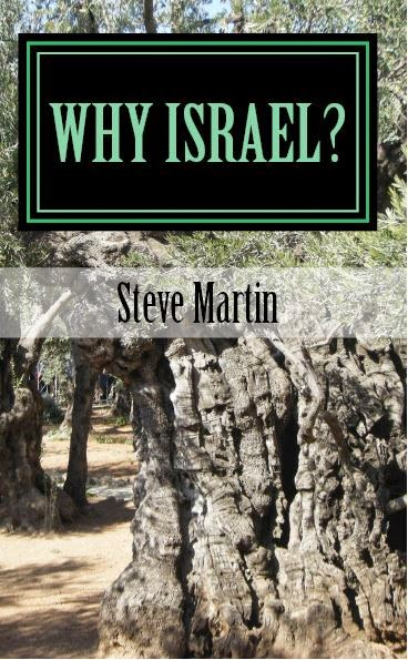 Why Israel? - from Amazon Paperback $5.95 Kindle $1.99.