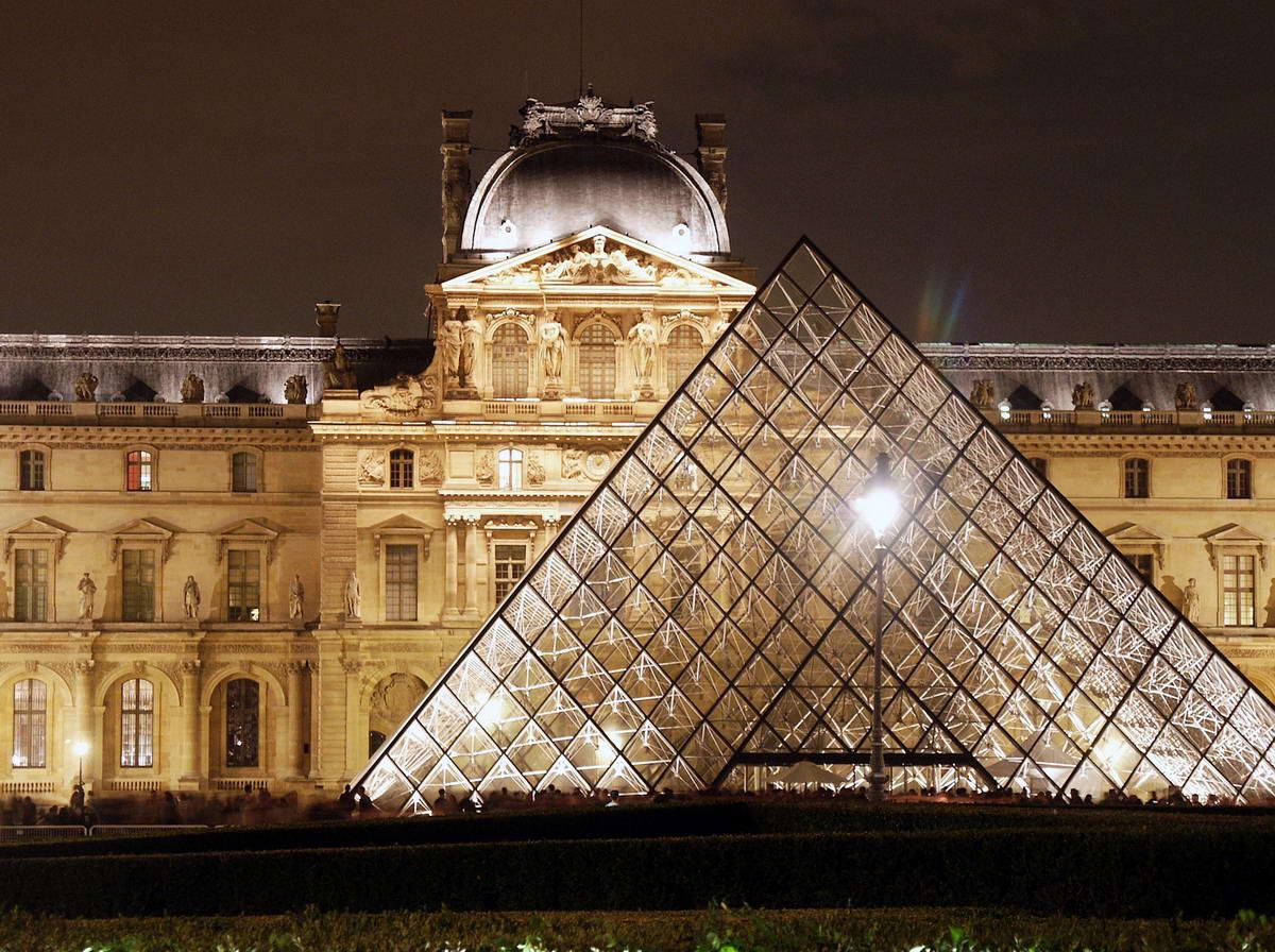 Musee du louvre paris - Les jardins du louvre ...