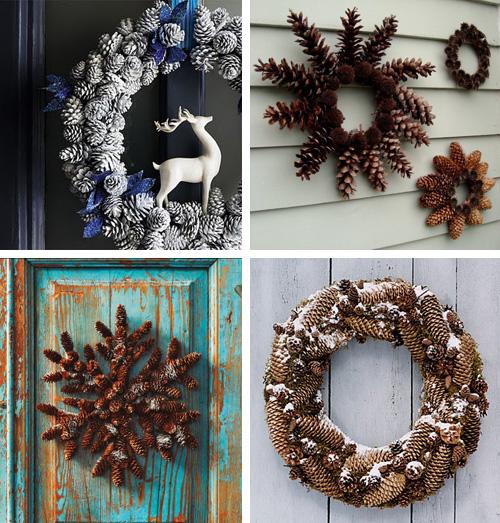 Lalole blog soluciona tu deco navidad con pi as for Decoracion con pinas secas
