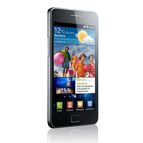 Samsung galaxy s2 bagian Depan