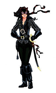 Pirate Catwoman by Shane McDermott