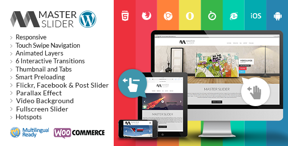 Master Slider v2.25.0 – WordPress Responsive Touch Slider