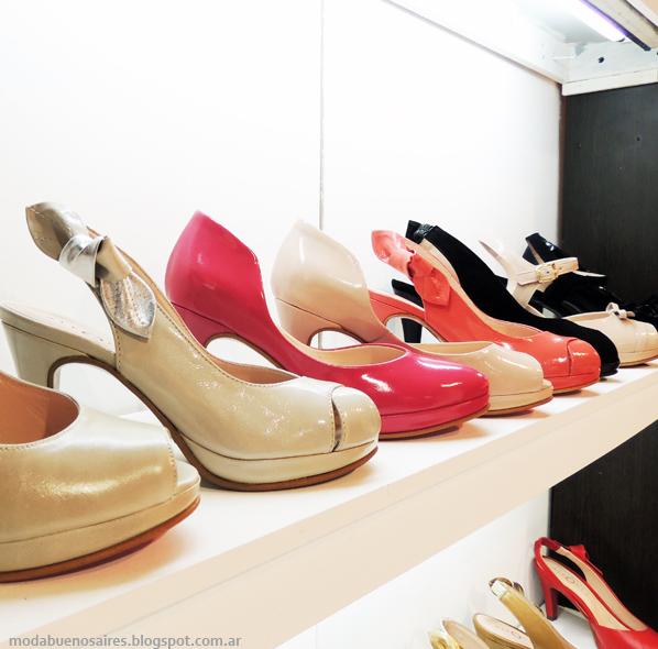 Zapatos tendencias primavera verano 2014.