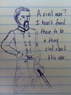 civil war officer