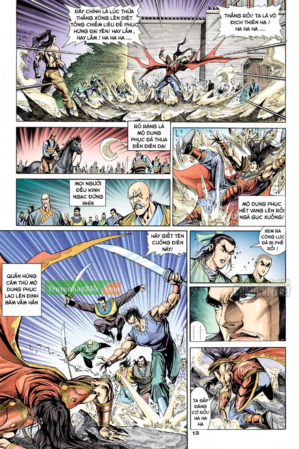 Thiên Long Bát Bộ chap 100 - Trang 14