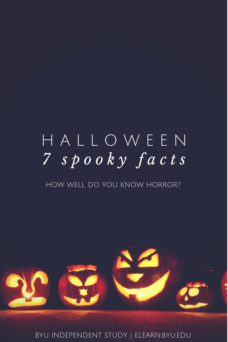 how well do you know halloween? 7 spooky facts to up your halloween
