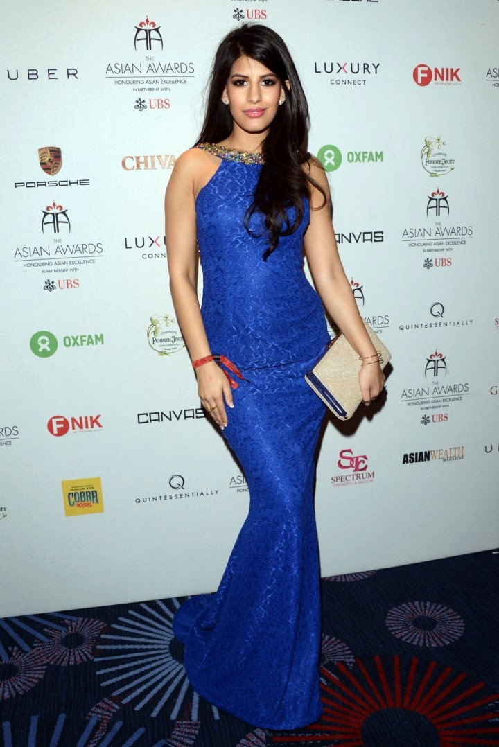 Jasmin Walia - 2014 Asian Awards in London