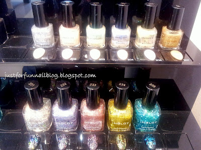 Shopping in Warsaw: Nail Polish! Inglot