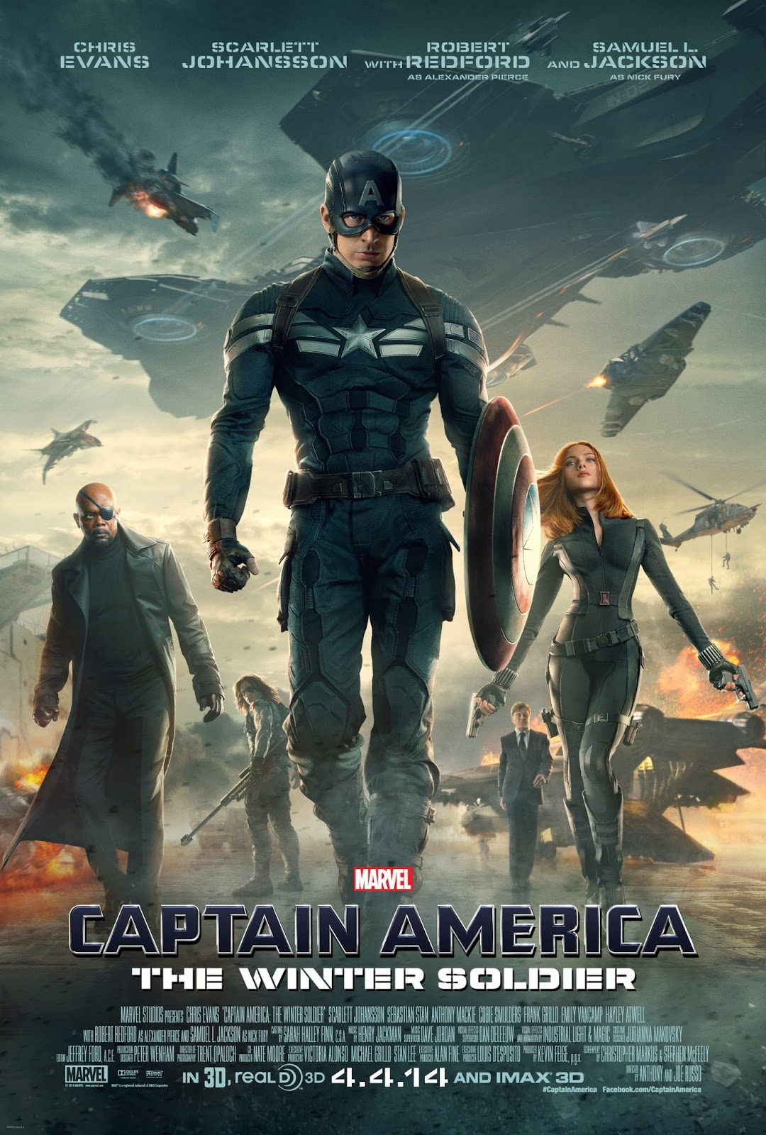 New CAPTAIN AMERICA: THE WINTER SOLDIER Poster
