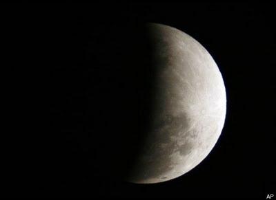 Foto Gerhana Bulan Total 16 Juni 2011