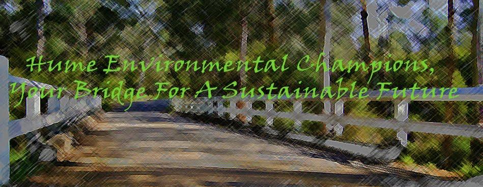 Hume Environmental Champions