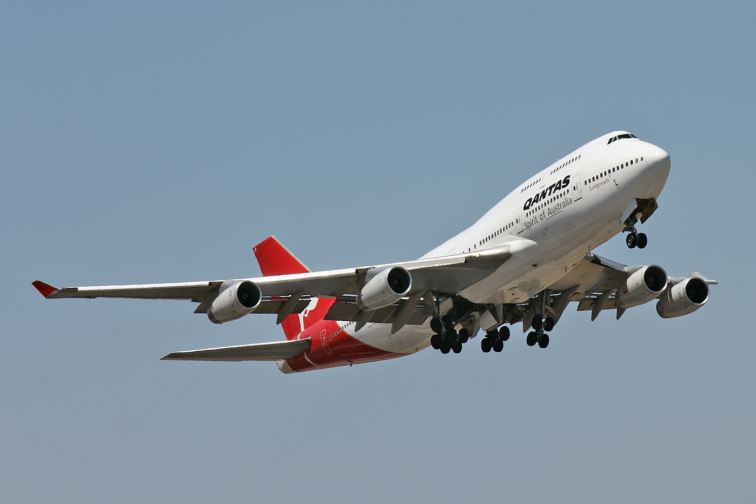 Qantas airways operated for the last time today or at least the