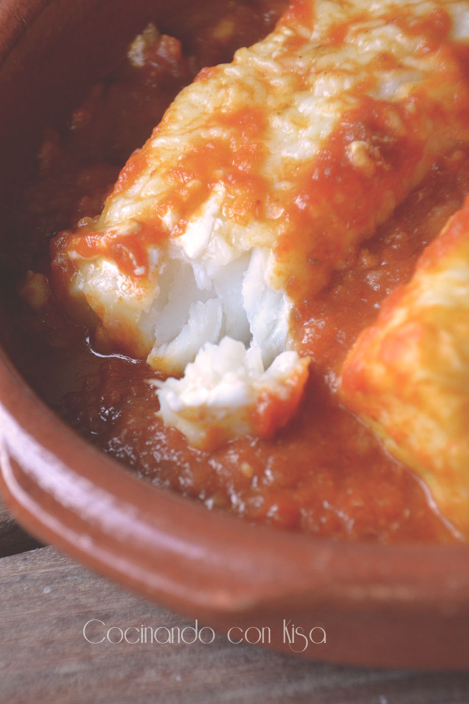Cocinando con kisa bacalao con tomate fussioncook for Cocinando con kisa