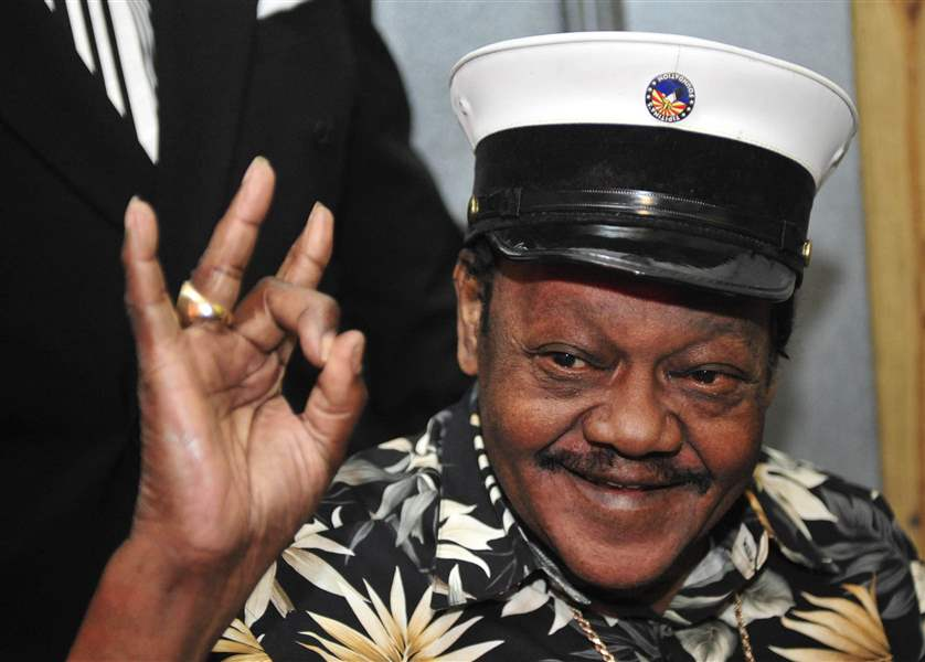 FATS DOMINO: DEAD AT 89