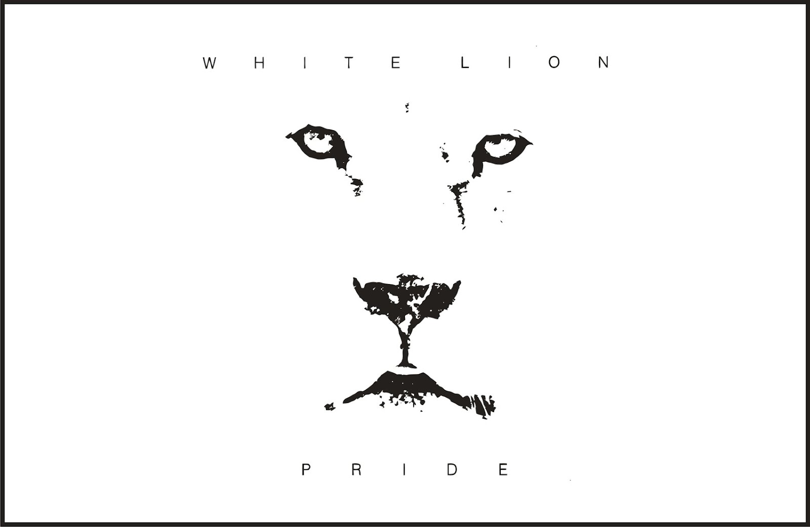 white_lion-pride_front_vector