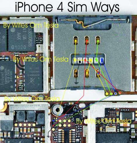 iPhone 4 Battery Pinout