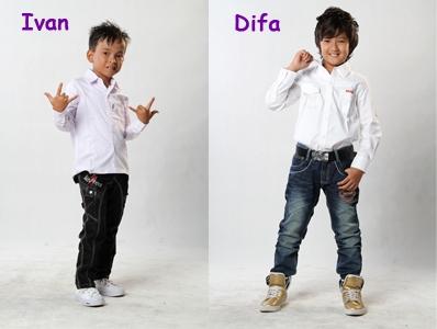 Ivan & Difa (Idola Cilik 2013)