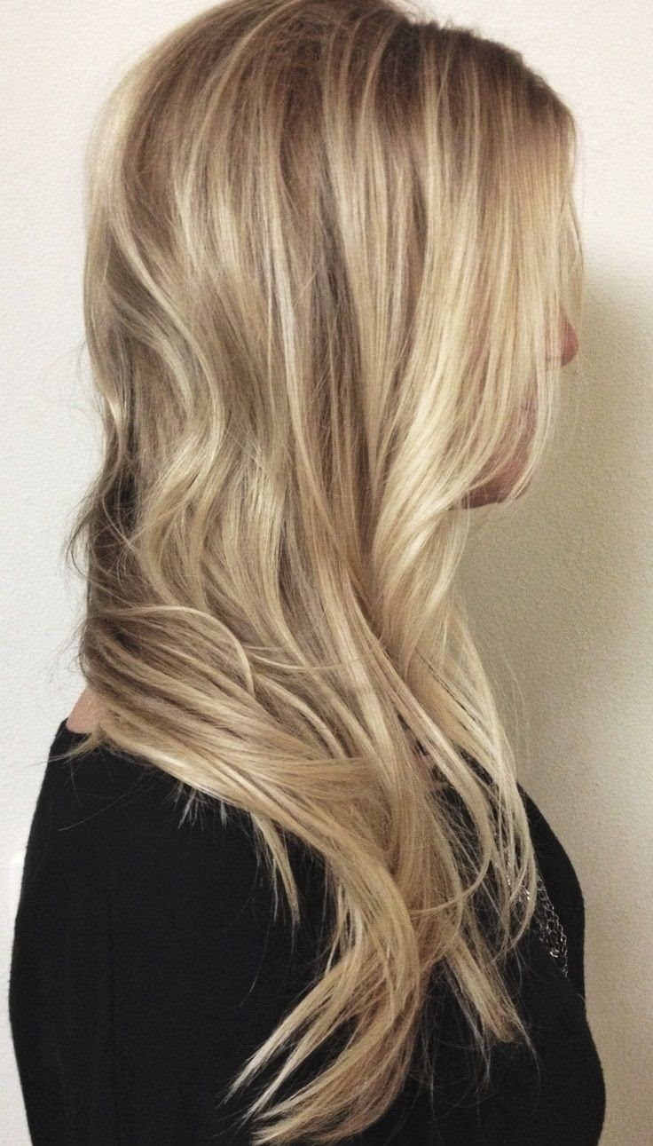 Honey Blonde Hair with highlights