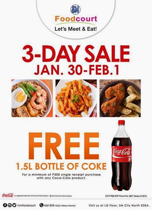 3 Day Sale Free 1 Liter Coke