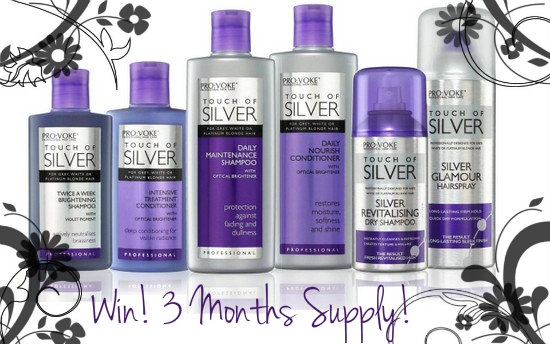 Touch of Silver Hair Range