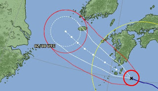 DAMREY wird wahrscheinlich Taifun zwischen Japan und Schanghai - oder Korea?, Taifunsaison 2012, aktuell, Damrey, Japan, China, Schanghai, Juli, August, 2012, Satellitenbild Satellitenbilder, Vorhersage Forecast Prognose,