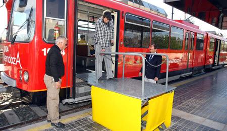 Resultado de imagen para metrotranvía rampas