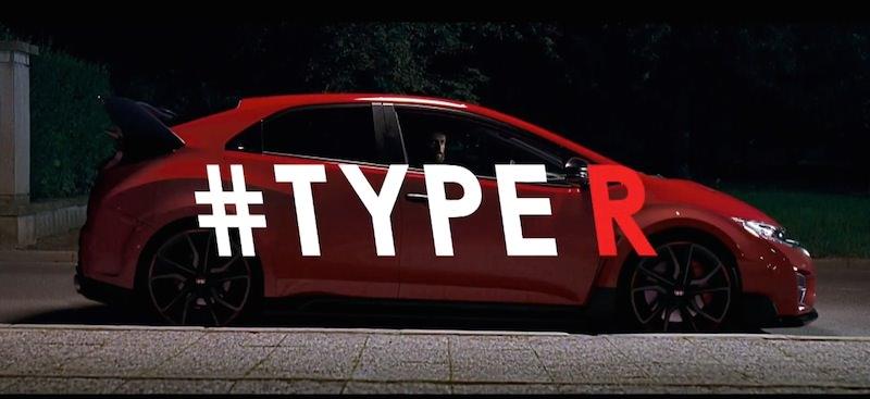 「R」キーを押すと画面が変わる!ホンダの新型「シビックType R」のビデオを公開